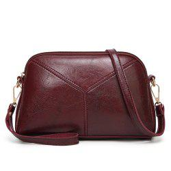 Fashion Stitching Oblique Cross Women'S Bag -