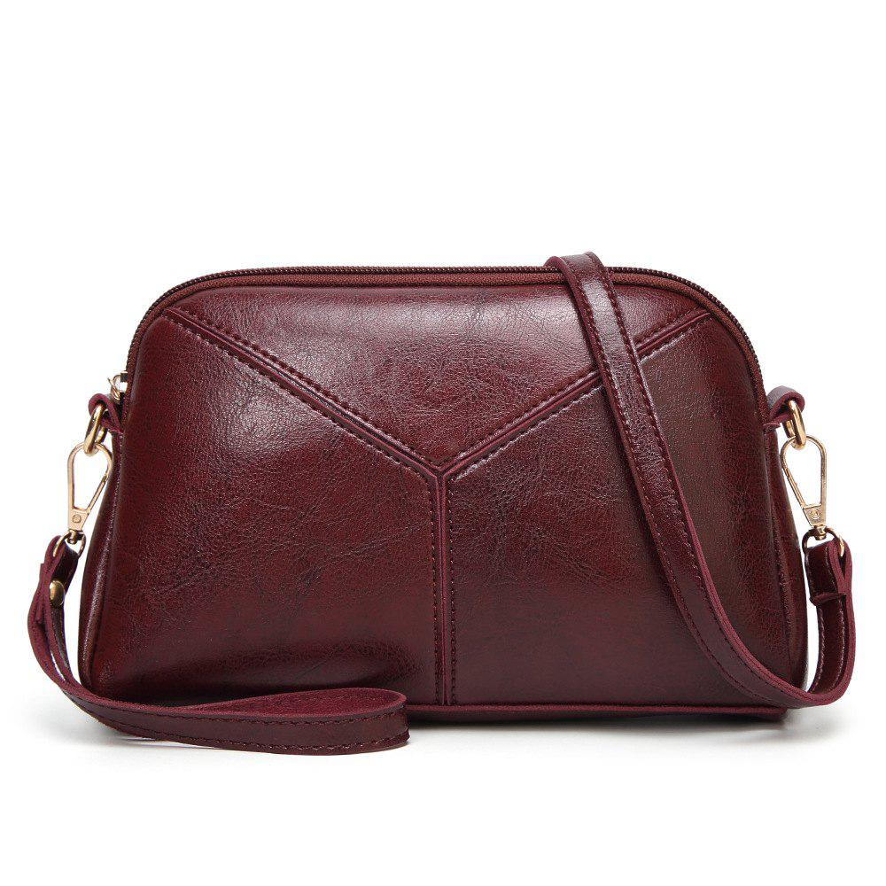 Outfits Fashion Stitching Oblique Cross Women'S Bag