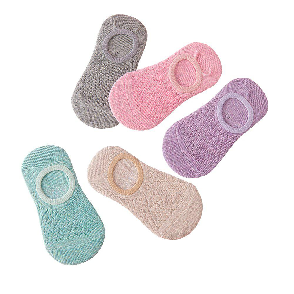 Outfits 5 Pairs of Mesh Breathable Cotton Children Socks