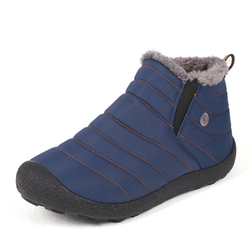 Affordable Explosion Models Couple Snow Boots Waterproof Cotton Shoes
