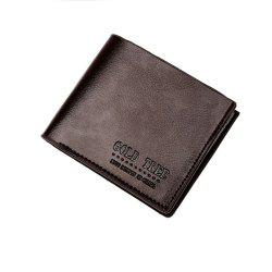 Fashion Quality Men'S Short Wallet High Quality PU Skin Hand Bag. -