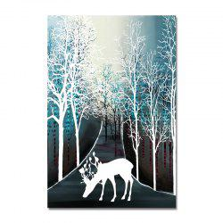 DYC Forest Silhouette Print Art -