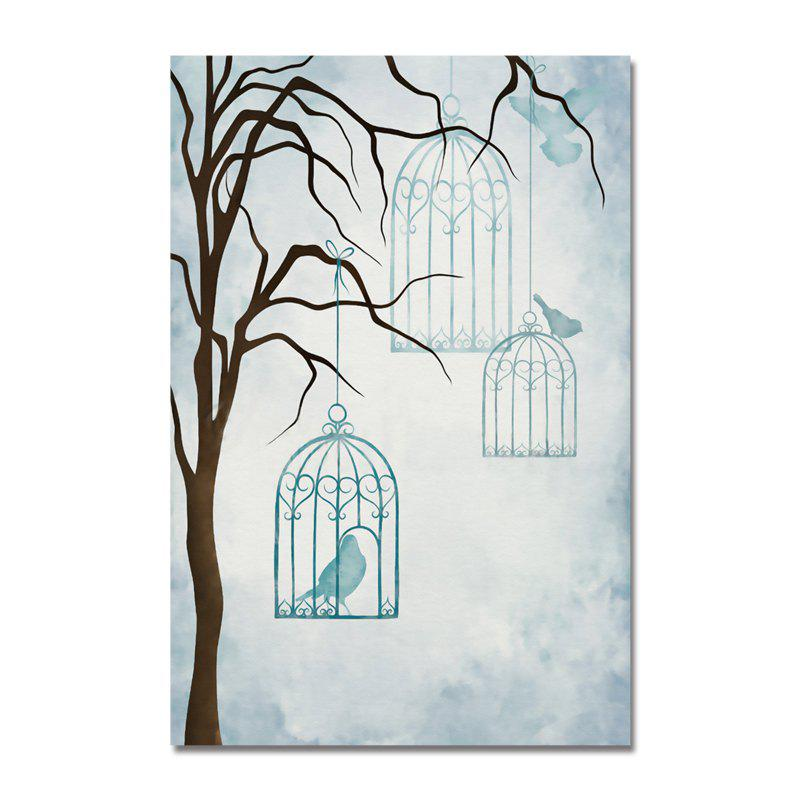 DYC Cage Birds in The Branches Print Art