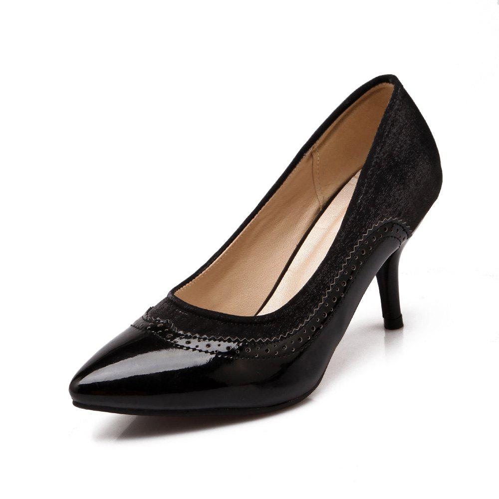 Outfits Women Shoes with High Heel Shallow Head