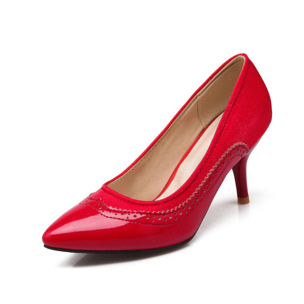 Shop Women Shoes with High Heel Shallow Head