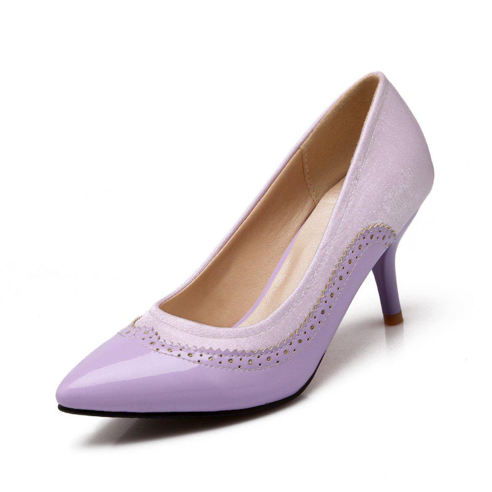 Shops Women Shoes with High Heel Shallow Head