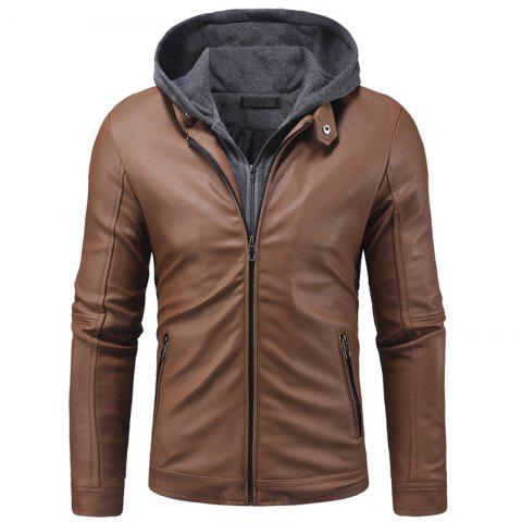 Brown Suede Jacket Free Shipping Discount And Cheap Sale