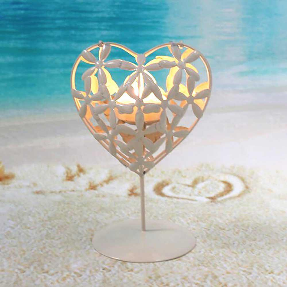 Outfits Creative Wedding Valentine'S Day Layout Iron Heart Candle Holder Decoration