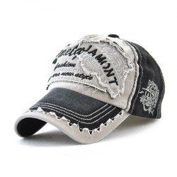 Couples Cotton Embroidery Baseball Cap Sunshade Fashion Hat -