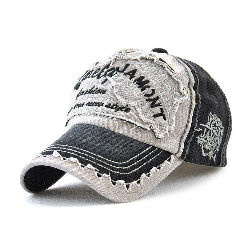 Latest Couples Cotton Embroidery Baseball Cap Sunshade Fashion Hat
