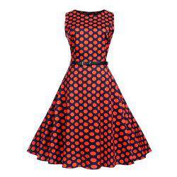 Waist To Look Slim and Swing A Dress -