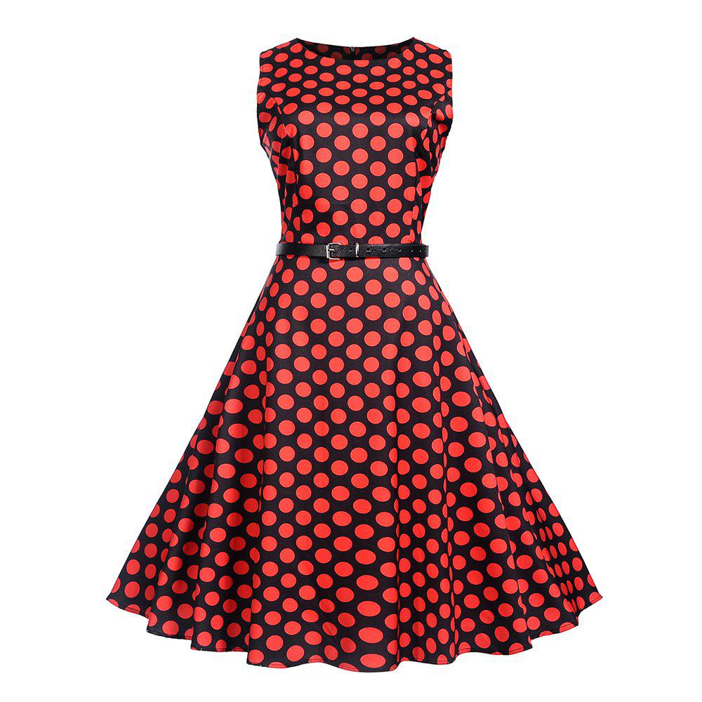 Affordable Waist To Look Slim and Swing A Dress