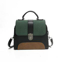 New Style Collision Color Crossbody Bag -