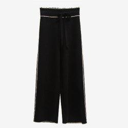Women's Broad Legged Trousers -