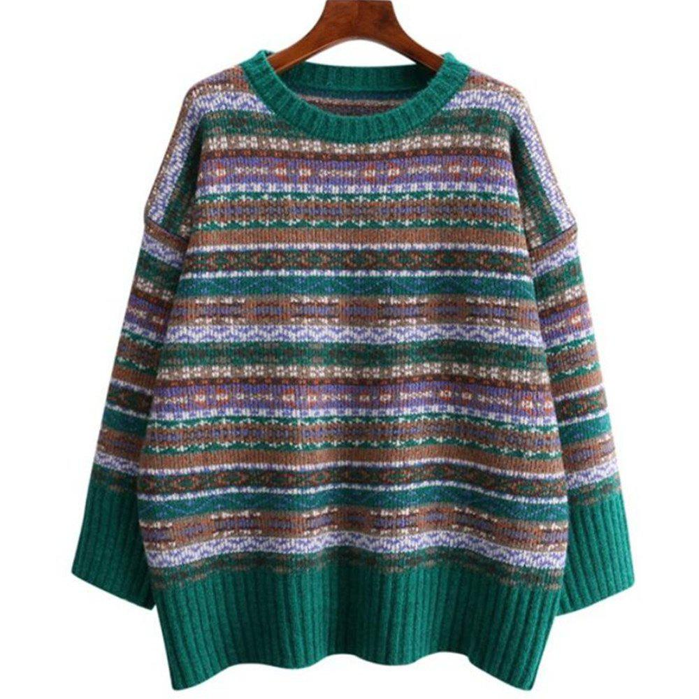 Outfits Women's Long Sleeve Knitting Sweater