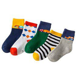 Autumn and Winter Cotton Thickening Terry Men'S Towel Bottom Children'S Socks F -