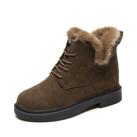 Winter New Warm Cotton High Top Outdoor Casual Shoes Boots