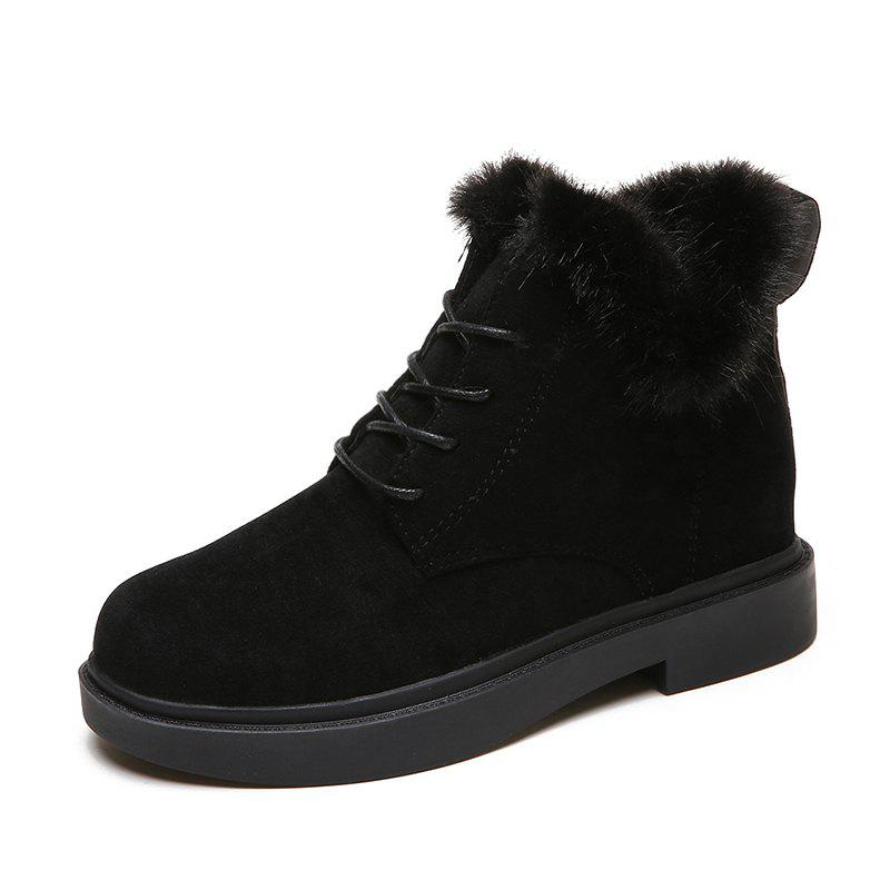 Outfits Winter New Warm Cotton High Top Outdoor Casual Shoes Boots