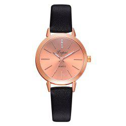Lvpai P698 Fashion Casual with Diamond Noble Quartz Watch Rose Gold Watch -