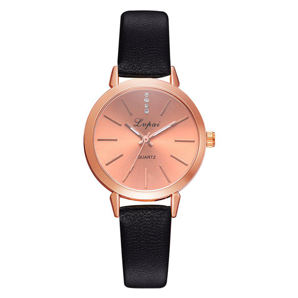 Hot Lvpai P698 Fashion Casual with Diamond Noble Quartz Watch Rose Gold Watch