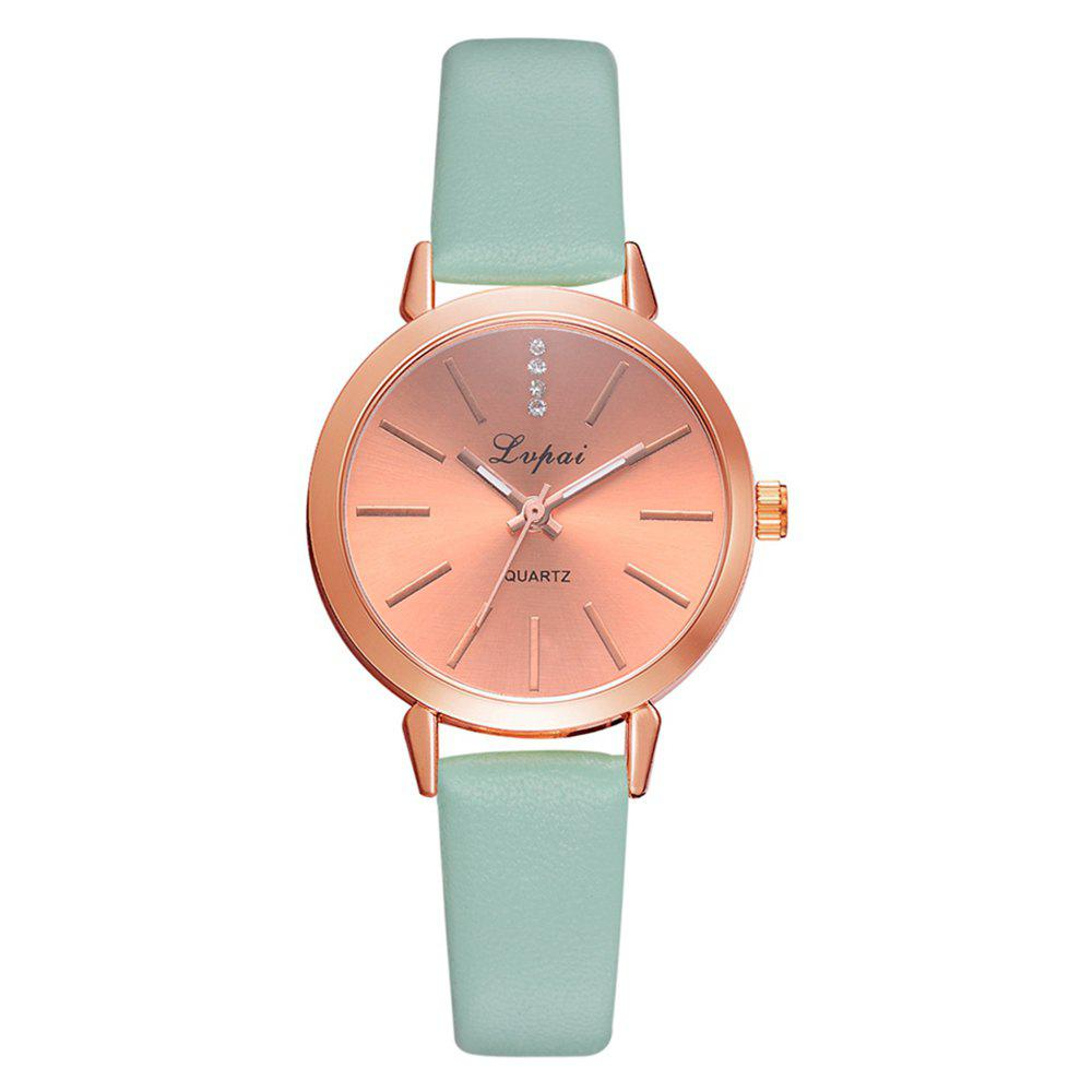 New Lvpai P698 Fashion Casual with Diamond Noble Quartz Watch Rose Gold Watch
