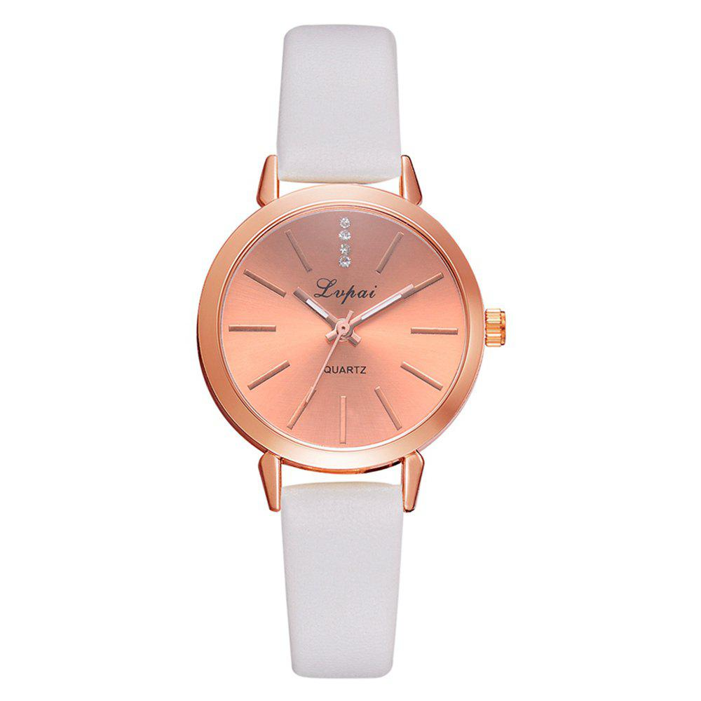 Discount Lvpai P698 Fashion Casual with Diamond Noble Quartz Watch Rose Gold Watch
