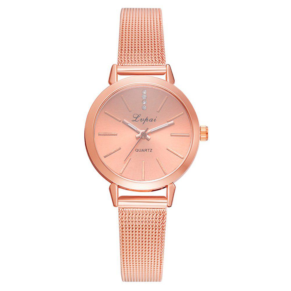 Fashion Lvpai P701 Mesh Belt Watch Small and Exquisite Noble Female Student Watch