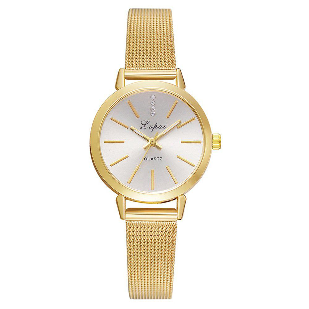 Shop Lvpai P701 Mesh Belt Watch Small and Exquisite Noble Female Student Watch