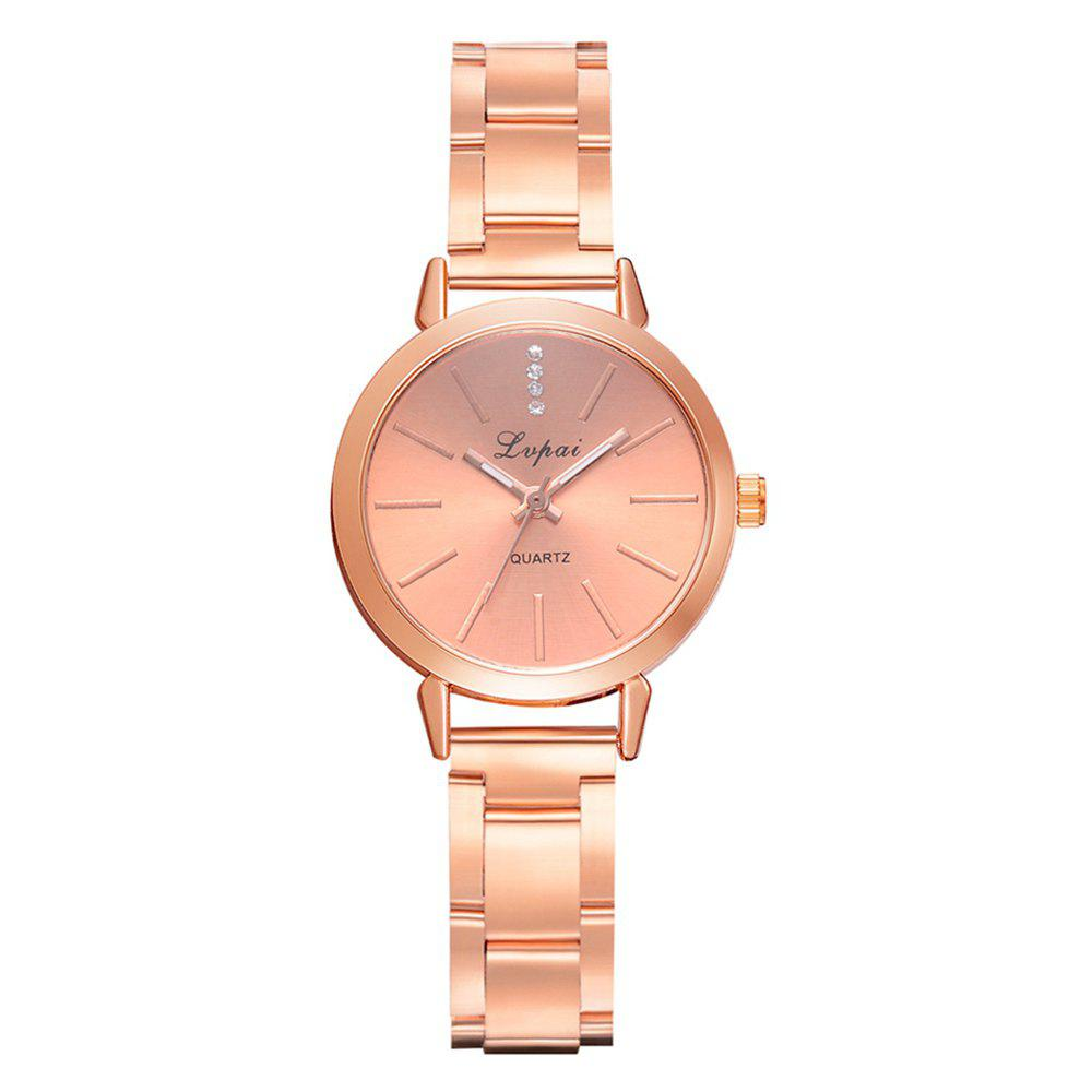 Buy Lvpai P703 Rose Gold with Diamond Fine Time Watch