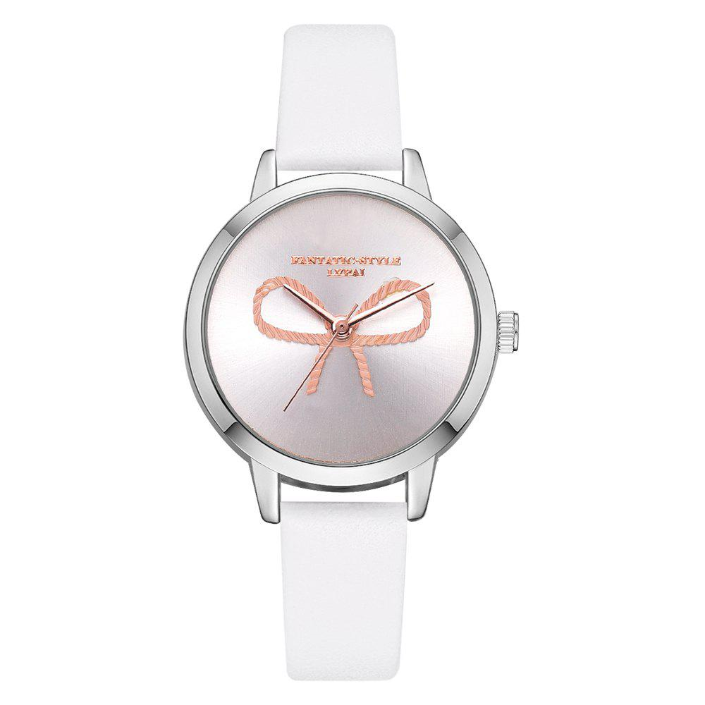 Best Lvpai P716 Casual Simple Bow Mirror Fashion Watch Casual Quartz Watch