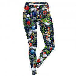 Christmas Clothes Tree Pattern Costume  Women Sport Leggings -