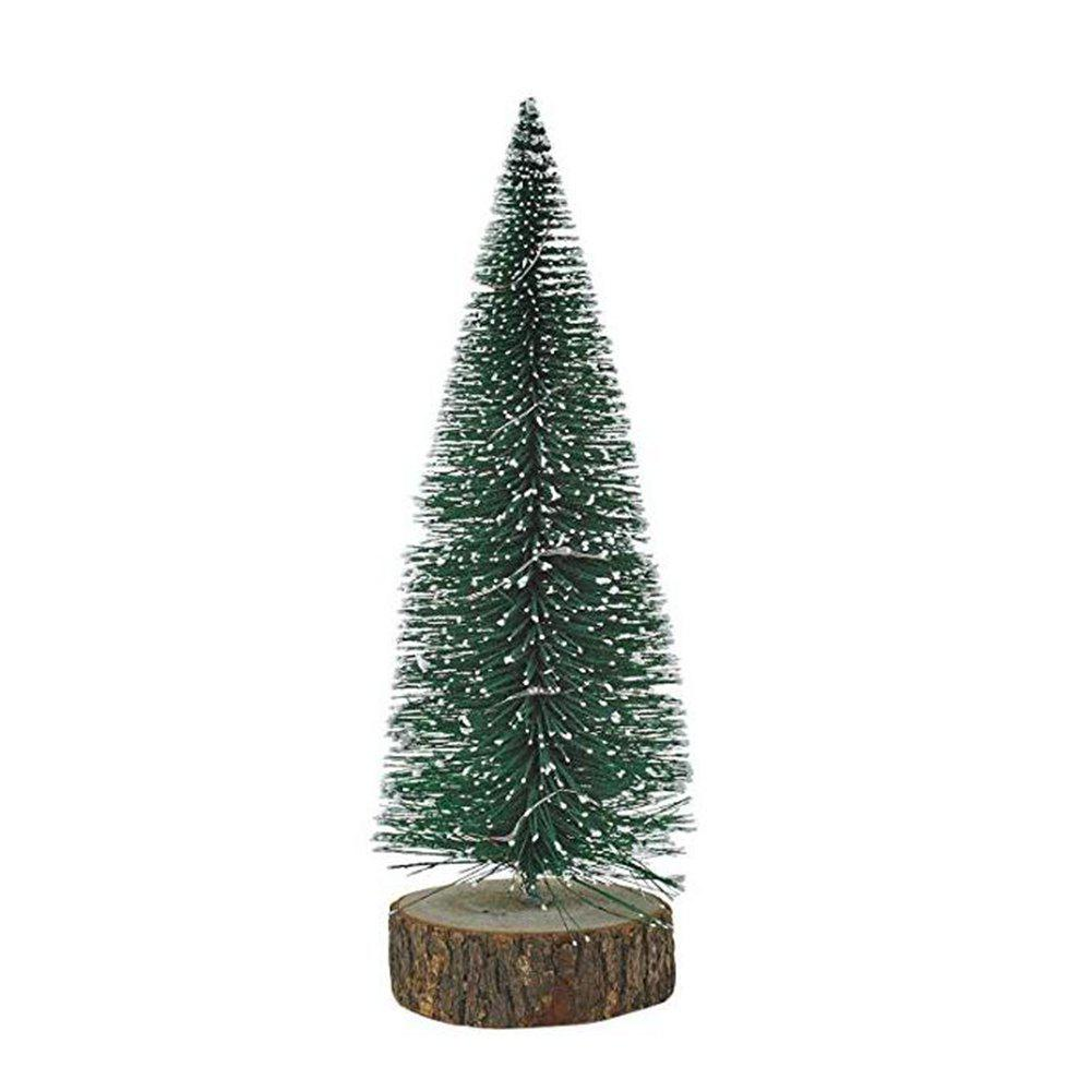 Store Artificial Tabletop Mini Christmas Tree Decorations Festival Miniature Xmas Tree