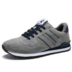 Men Low-Top Soft Bottom Comfortable Breathable Sports Casual Running Shoes -