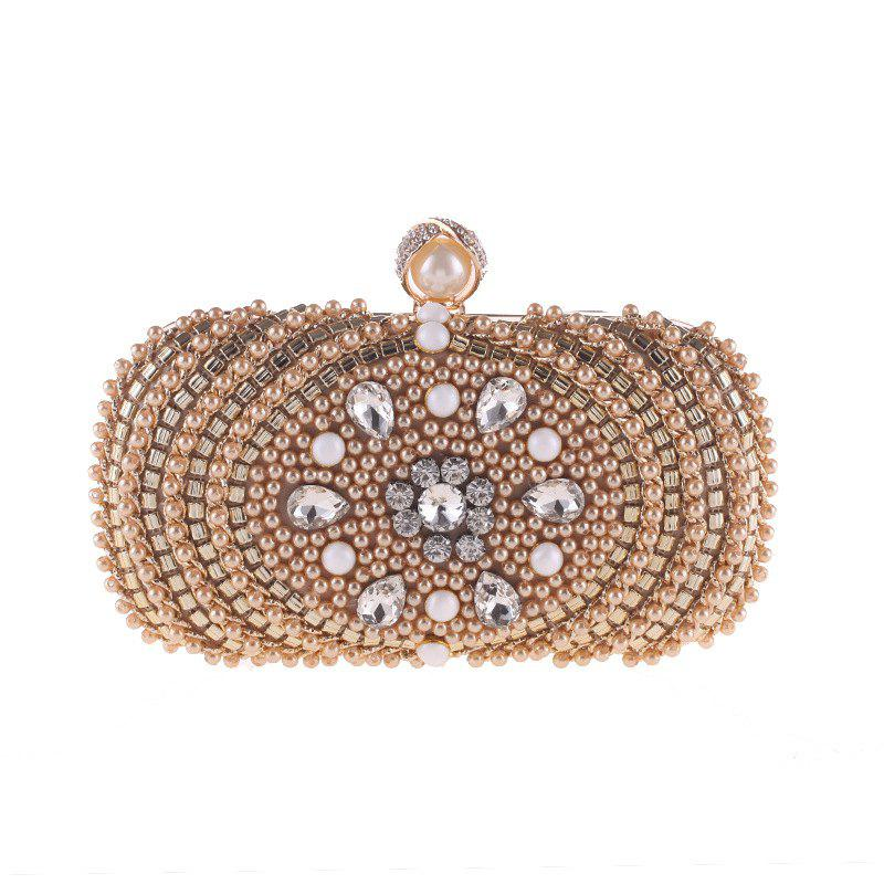 Outfit Women Costly Evening Bag Handmade Beaded Diamonds The Bride Bag