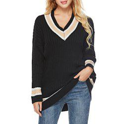 Autumn And Winter V-Neck Long-Sleeved Shirt Bottoming Sweater -