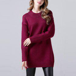 Long Sweater Coat Sweater In Autumn And Winter -