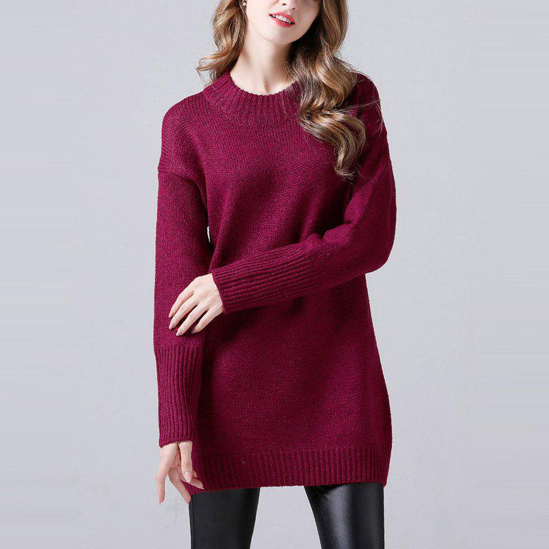 Affordable Long Sweater Coat Sweater In Autumn And Winter