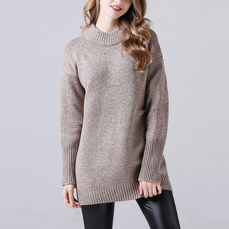 Latest Long Sweater Coat Sweater In Autumn And Winter