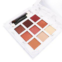K.A.N Professional Latest 9 Color Portable Earth Color Eye Shadow Palette 03 -