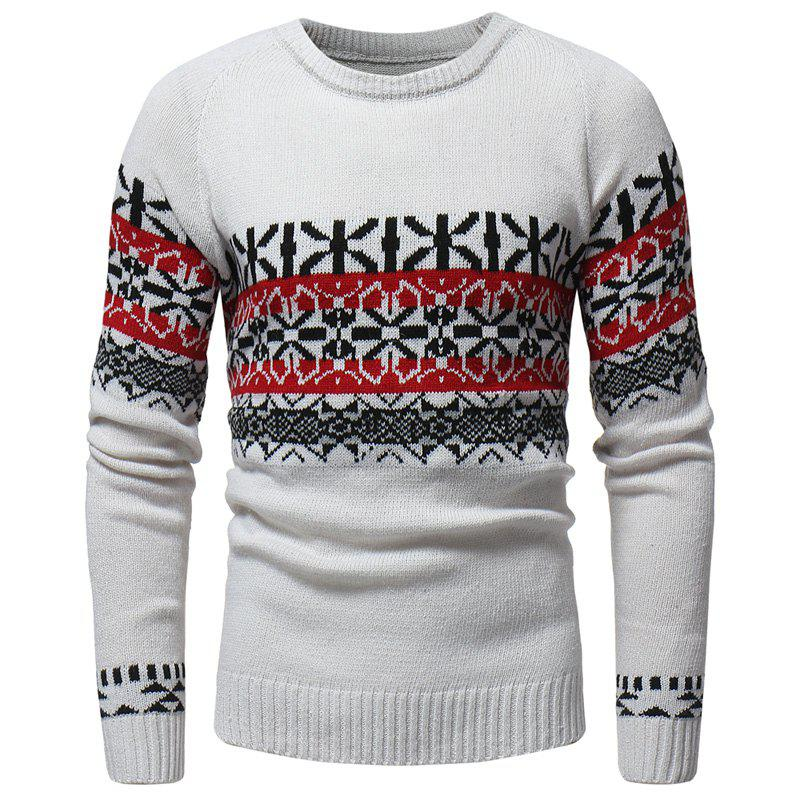 Online New Sweater Classic Fashion  Men's Leisure Body Repair  Christmas Sweater