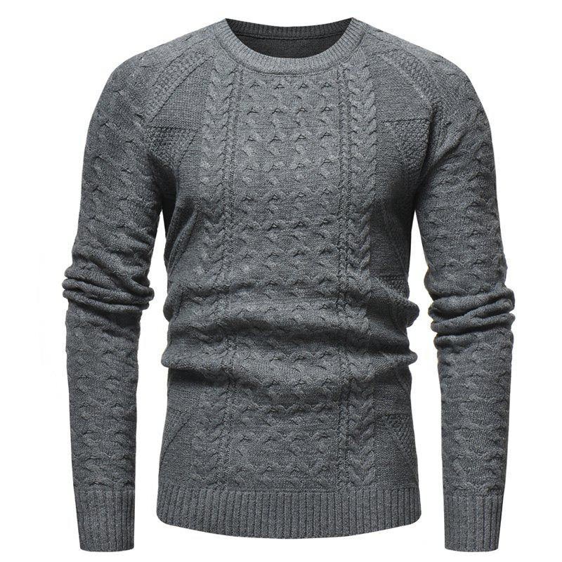 Hot New  Classic Fashion Men's Leisure Fitness Sweater
