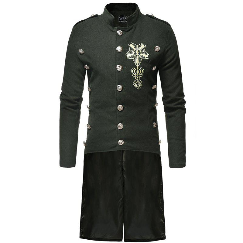Outfits New Overcoat Dress Design Is For Men's Leisure And Body Repair