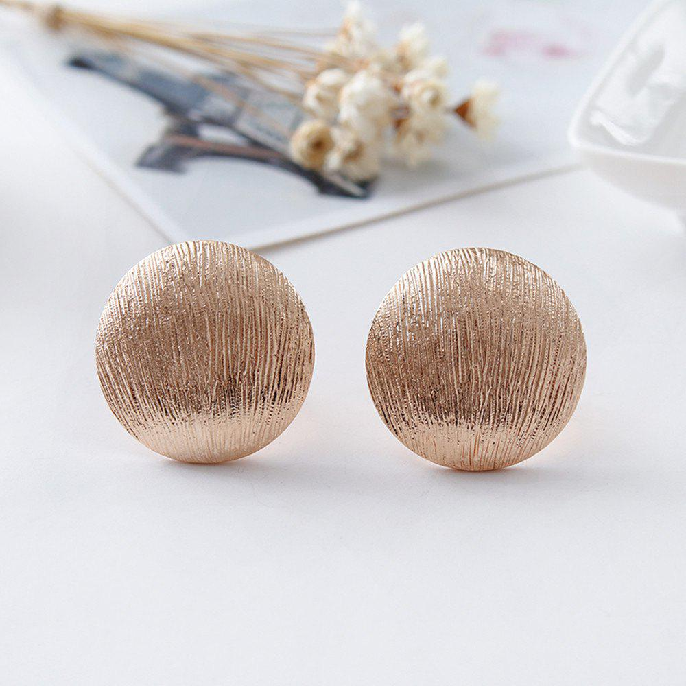 Bold gold ear clip for women's fashion with clip earrings for jewelry