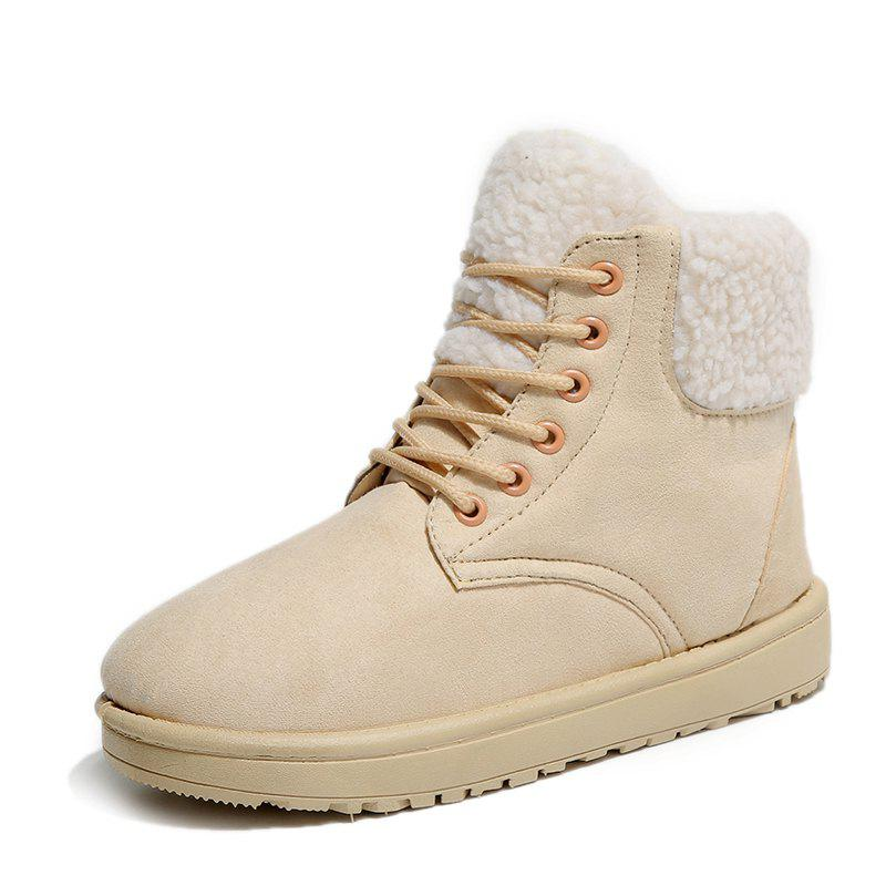 Fancy Winter Trend Snow Boots High To Help Cotton Shoes Outdoor Casual Shoes