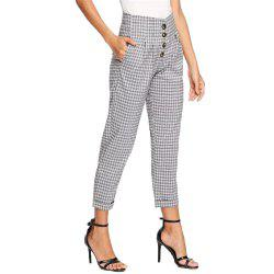 Women's Casual Loose Lattice Pants -