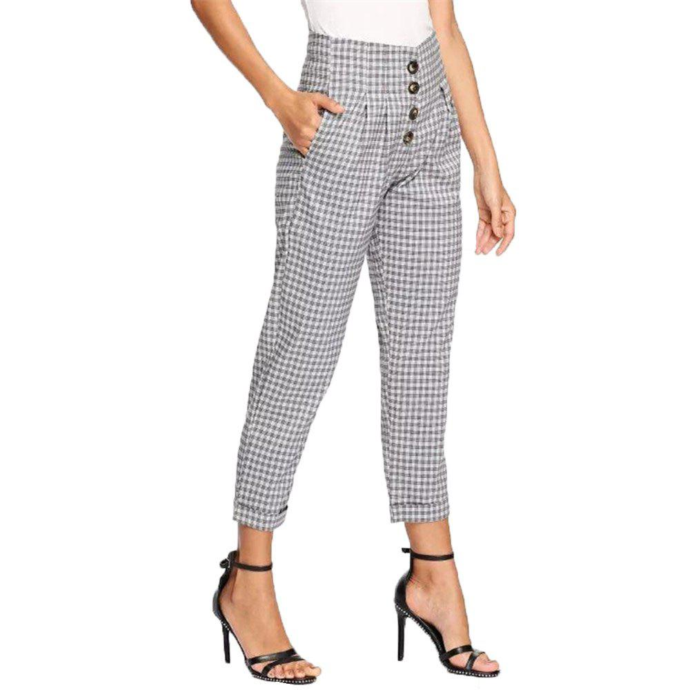 Hot Women's Casual Loose Lattice Pants