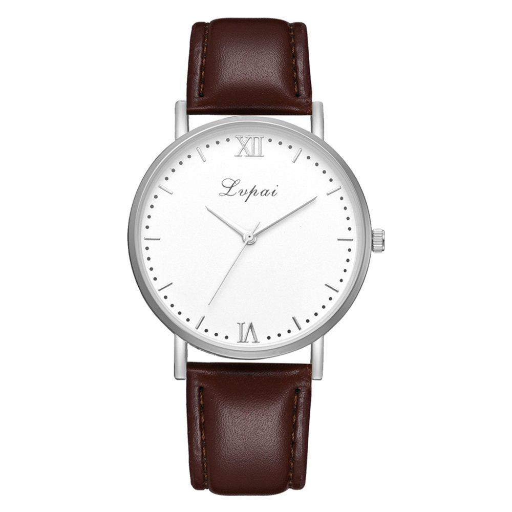 Affordable Lvpai P784 Trendy Quality PU Leather Business Quartz Watch