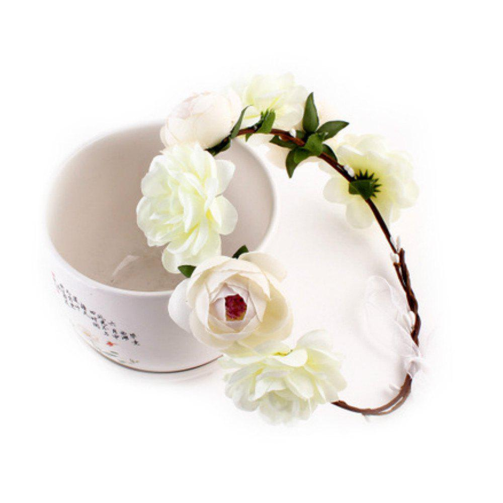 Fashion Fashion Bohemia Flower Hair Belt