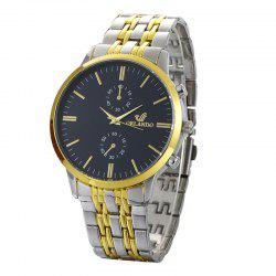 Luxury Orlando Stainless Steel Watches Men Business Quartz Wrist Watch -