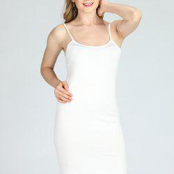 SBETRO Solid Cami Sling Dress Casual Women -
